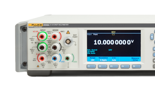 Endlich da: Fluke 8558 8 1/2 Digit Sampling Meter